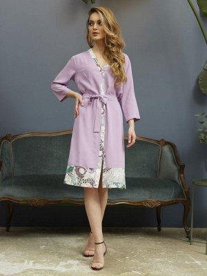 Домашний халат Ida Цвет: Лиловый. Производитель: Mia Cara