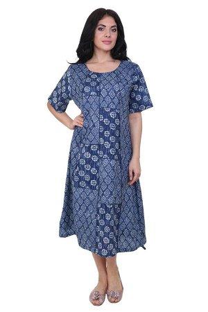 Платье Karolina Цвет: Синий,Белый. Производитель: Ганг