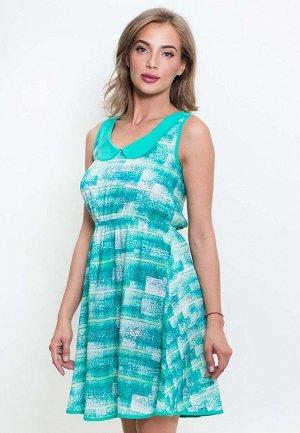 Платье Jenelle Цвет Зеленый.