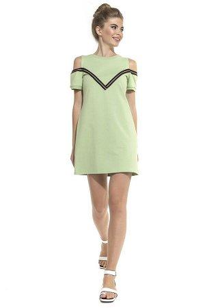 Платье Luccile Цвет: Светло-Зеленый. Производитель: Peche Monnaie