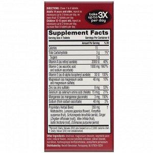 AirBorne, Оригинальная добавка для укрепления иммунитета со вкусом ягод, 32 жевательные таблетки