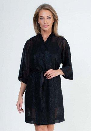 Комплект с халатом Ashur Цвет: Черный. Производитель: PENYE MOOD
