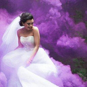 Цветной дым фитиль Фиолетовый