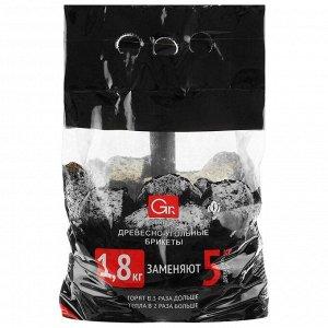 Древесноугольные брикеты Grifon, 1,8 кг