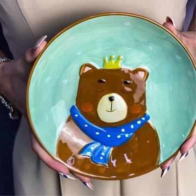Самые модные, стильные бокалы из хрустального стекла — Посуда в детском стиле *в наличии* — Тарелки