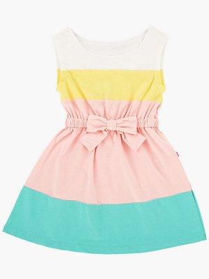 Платье (98-122см) UD 1440(2)цветное/светл