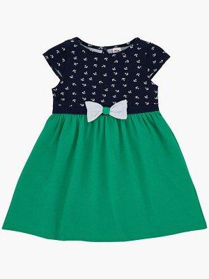 Платье (98-122см) UD 1401(1)зеленый