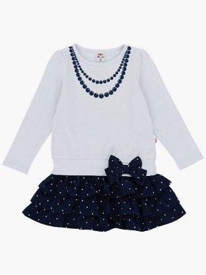*Платье (98-116см) UD 0417(6)белый