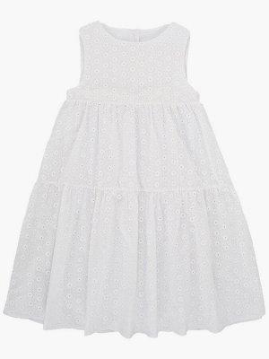 Платье (122-146см) UD 7184(1)белый