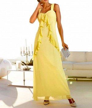 Платье, ванильное
