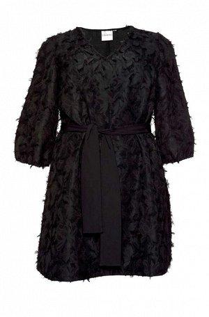 Платье-туника, черная