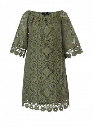 Платье, оливковое