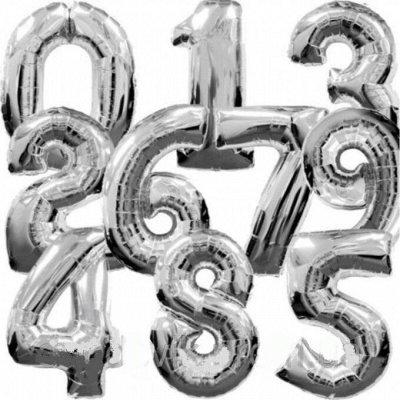 №164=✦Территория праздника✦ -организуем праздник сами.Шарики — Шары-цифры фольгированные — Воздушные шары, хлопушки и конфетти