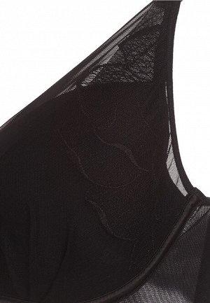 Бюстгальтер пуш-ап без косточек Evie, цвет чёрный