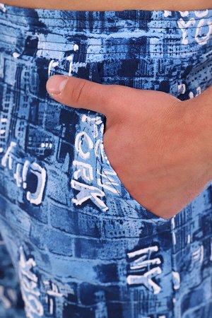 Шорты 6320 100% хлопок Мужские шорты с боковыми карманами на поясе с резинкой изготовлены из трикотажного полотна соригинально выполненнымнабивным рисунком. кулирка Кулирка — это самое тонкое и глад