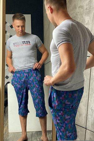 Шорты 7201 100% хлопок Шорты мужские прямые, чуть ниже колена, на поясе с эластичной тесьмой. На передней половинке брюк внутренние карманы. кулирка Кулирка — это самое тонкое и гладкое трикотажное по