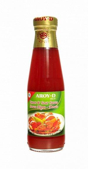 Соус кисло-сладкий AROY-D, 215г, ст\б