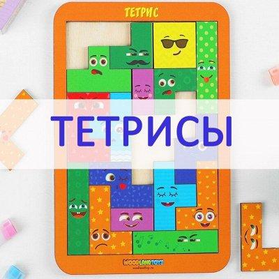 Развивающие деревянные игрушки - 28! Новинки! — Тетрисы — Игрушки и игры