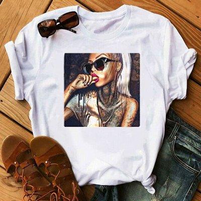 ✔ Ну, очень дешёвые футболки М + Ж_23