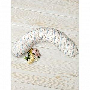 Подушка для беременных, размер 25 ? 170 см, принт техас