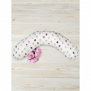 Подушка для беременных, размер 25 ? 170 см, принт эскимо