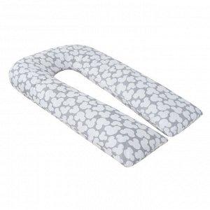Подушка для беременных U-образная, размер 35 ? 340 см, мышонок серый