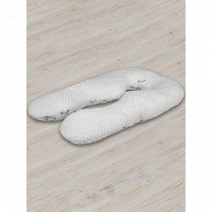 Подушка для беременных анатомическая, размер 72 ? 340 см, овечки