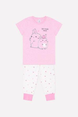 Пижама(Весна-Лето)+girls (розовая вишня, земляника на сахаре)