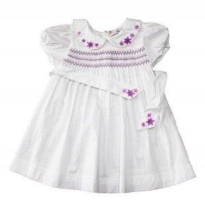 Платье 1110220 1 бел-сирен 90-114/5