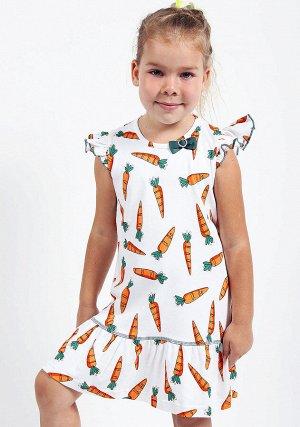 Платье трик 218015 морковки 92-116/5