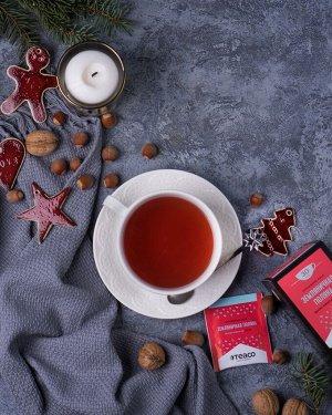 Пакетированный чай на чашку Земляничная поляна 30 пакетиков