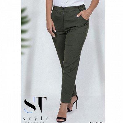 SТ-Style~59*⭐️Распродажа! Летние платья и костюмы! — Размер 48+: Брюки, бриджы, лосины — Брюки
