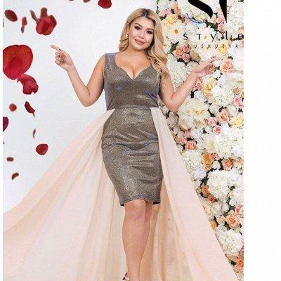 SТ-Style~59*⭐️Распродажа! Летние платья и костюмы! — 48+: Вечерние платья — Вечерние платья
