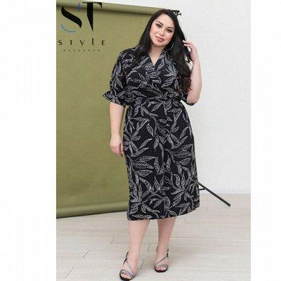 SТ-Style~59*⭐️Распродажа! Летние платья и костюмы! — Супер батал: Платья — Платья