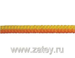 Гирлянда Декор 3,6м оранжево-желтая