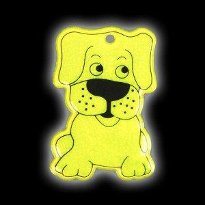Светоотражающий элемент «Собака», 6 ? 3,5 см , цвет МИКС