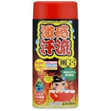 02690hl Gekikan Соль для принятия ванны разогревающая с детокс-эффектом, 400 г