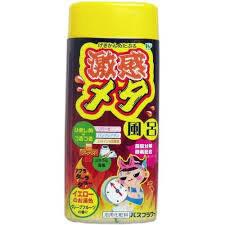 02691hl Gekikan Соль для принятия ванны улучшающая метаболизм с детокс-эффектом, 400 г