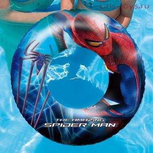 Круг Иаметр (в раздутом виде), см: 56 Размер (в надутом виде), см: 48 x 48 x 11 Форма: круг Цвет: красно-синий(Spider-Man) Возраст: 3-6 лет Материал: плотный винил Размер упаковки, см: 24 x 5 x  23 Ве