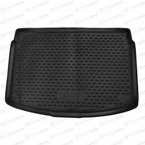 Коврик Autofamily модельный в багажник Toyota Vitz 2010-2016 гг. (правый руль), черный цвет, 1шт