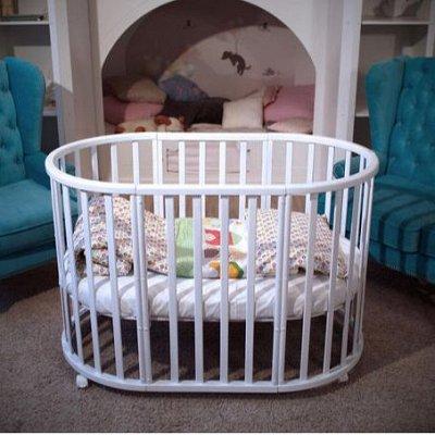 Овальные кроватки малышам! — Круглые-овальные кроватки — Детская