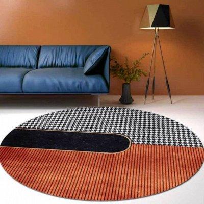 Стильная, современная мебель. Преобразите свой интерьер  — NEW: крутые ковры круглой формы — Ковры