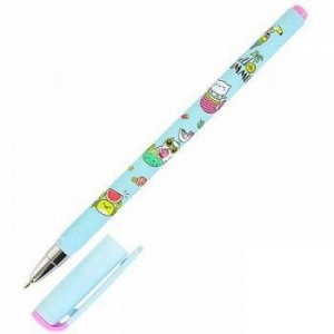 "Ручка шариковая масляная 0.5мм ""LOREX ILLEGALLY CUTE.CAT-MERMAID"" синяя LXOPSS-IC4 LOREX {Китай}"