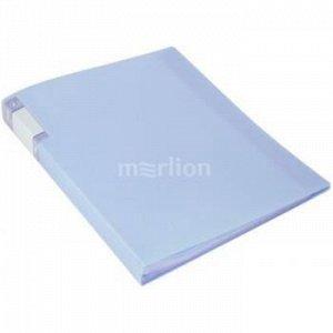 Папка-файл  20 Gems GEM20AZURE 0.7мм голубой топаз (1014554) Бюрократ {Россия}