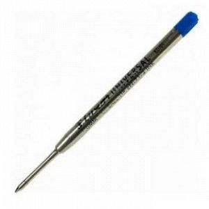 Стержень 99 мм объемный для ручек шариковых 1.0мм синий 9102 Luxor {Индия}