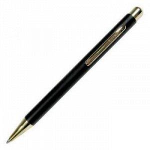 """Ручка автоматическая шариковая """"Nova"""" синяя 1.0мм корпус черный/золото 8236 Luxor {Индия}"""