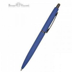 """Ручка автоматическая шариковая 1.0мм """"SAN REMO"""" синяя, синий металлический корпус 20-0249/03 Bruno Visconti {Китай}"""