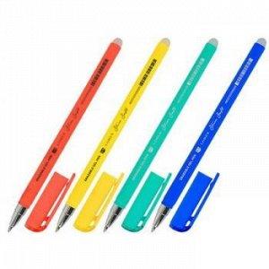 """Ручка гелевая """"Пиши-стирай"""" синяя 0.5 мм """"Slim Soft. LOREX LX-BASE.BRIGHT"""" LXEPSS-LB2 LOREX {Китай}"""