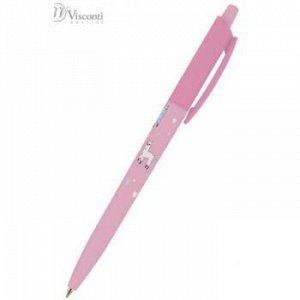 """Ручка автоматическая шариковая 0.5мм """"HappyClick. Ламы"""" синяя 20-0241/20 Bruno Visconti {Китай}"""