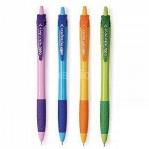 Ручка автоматическая шариковая 0.7мм Cello RADIANT синяя, ассорти (829281) CELLO {Индия}